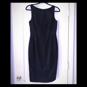 Carmen Marc Volvo Black Silk Dress